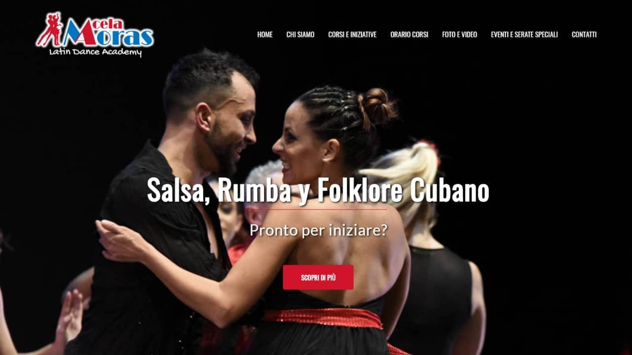 Acela Moras - sito web realizzato da sfumaturedigitali.com