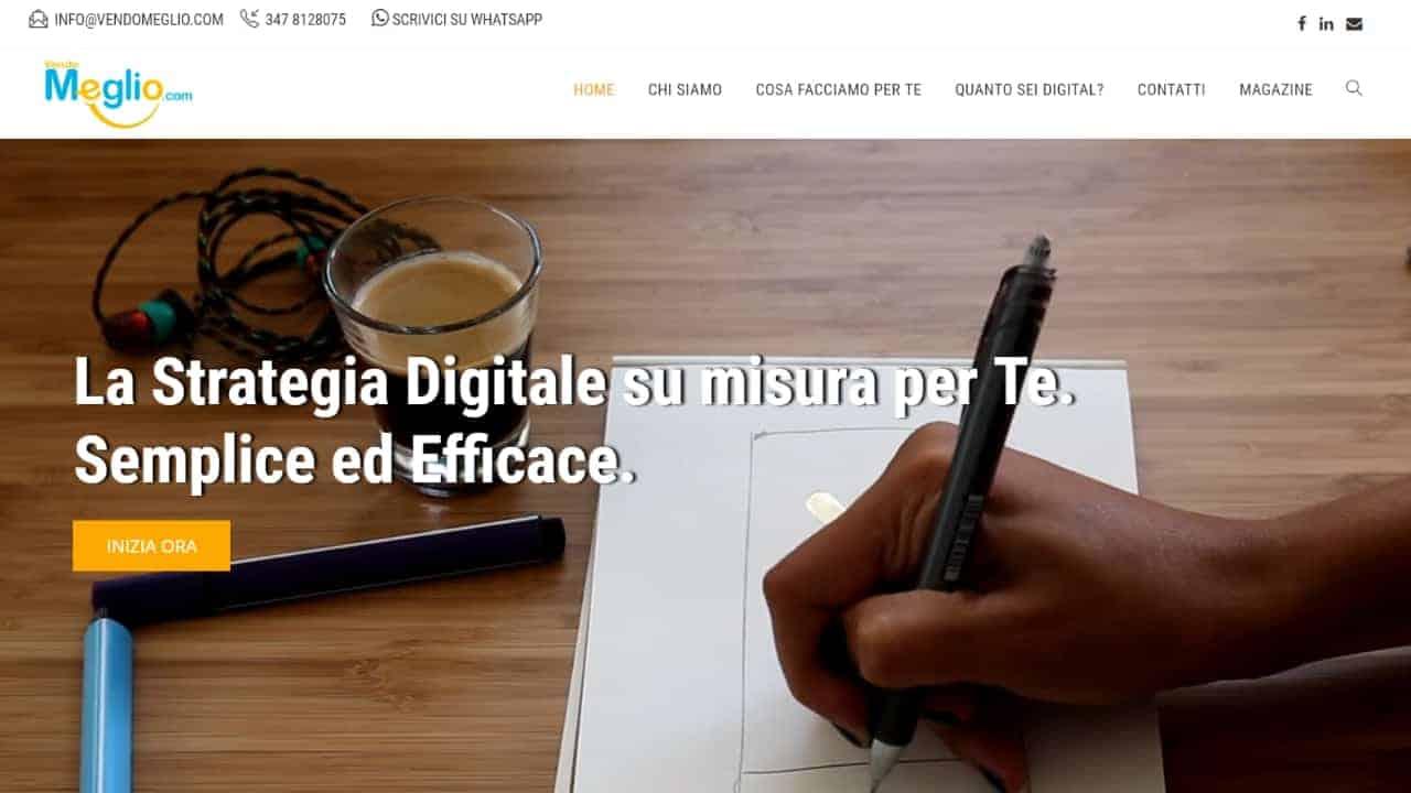 Vendomeglio.com - sito web realizzato da sfumaturedigitali.com